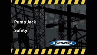 Werner Ladder - Climbing Pro Pump Jack Safety Training