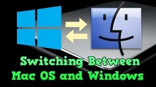 How to switch between Mac OS and Windows (Windows 10 & Mac OS X)