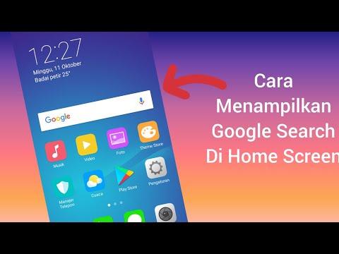 Halo guys pada video kali ini aku mau ngasih cara atau tutorial memunculkan google penelusuran yang .