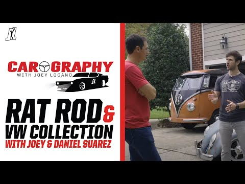 Carography with Joey Logano Episode 5: Joey's Rat Rod and Daniel Suarez's VW Collection