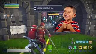 Dumb Scammer Loses 200 Rainbow Crystal (SCAMMER GETS SCAMMED) - Fortnite Save The World