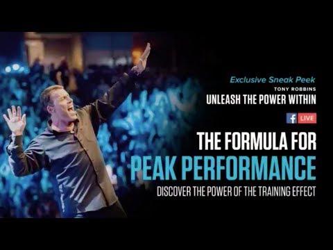 Tony Robbins Priming in NJ UPW