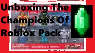 Emerald Gaming Unboxes The Champions of Roblox