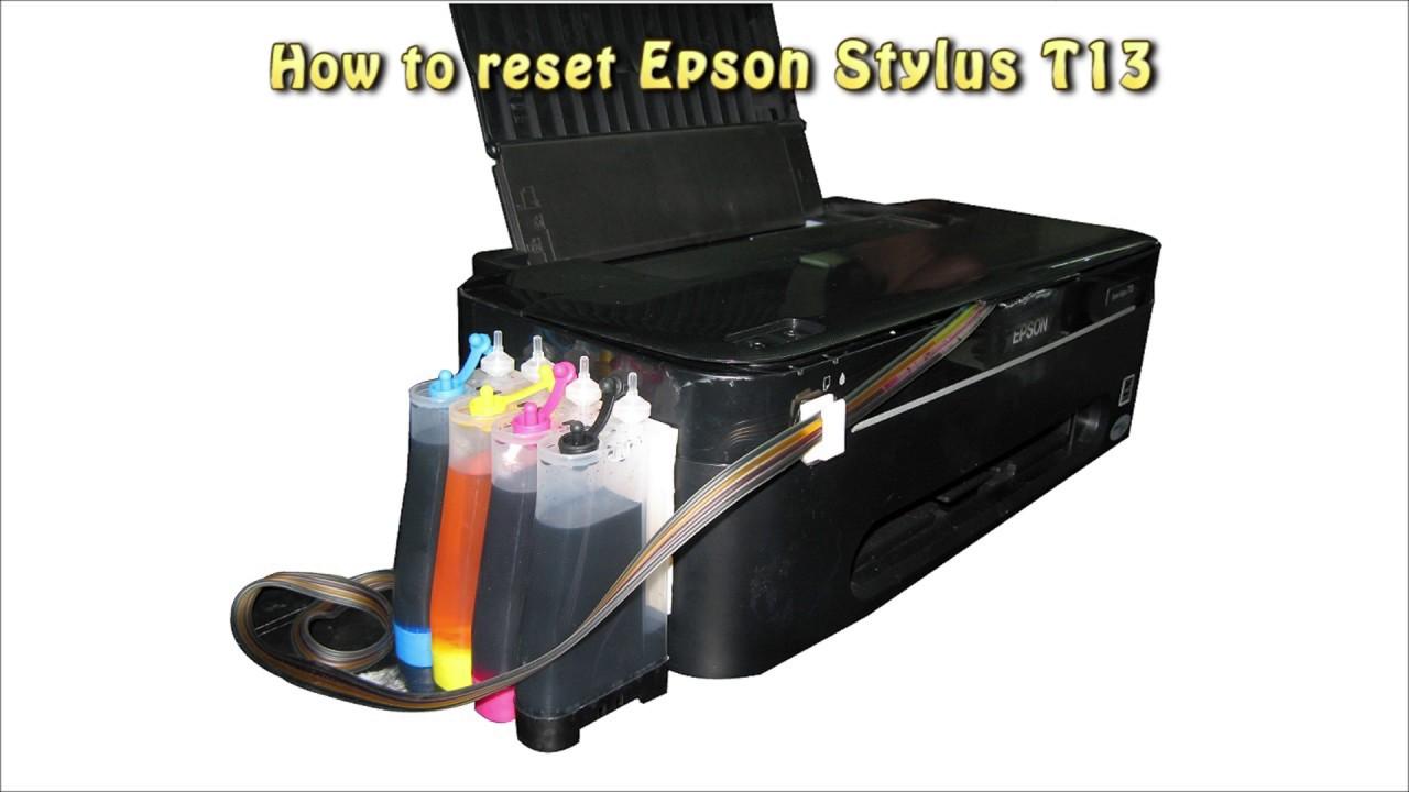 Free Download Reset Printer Epson T13x