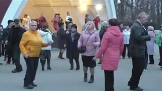 Абсент...Народные танцы,парк Горького,Харьков.