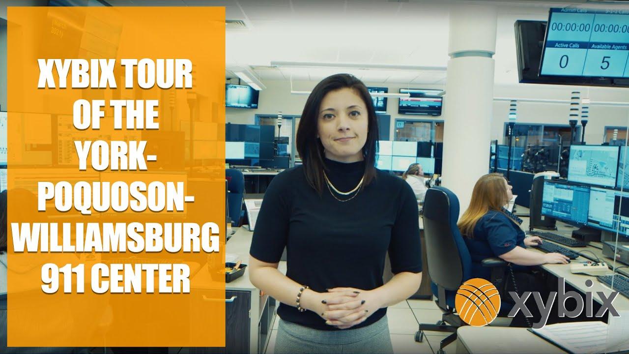 Download Xybix Tour of the York-Poquoson-Williamsburg 911 Center, Featuring Maria Teruel