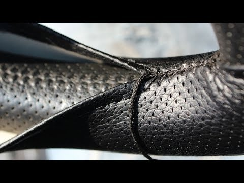 Как натянуть кожаную оплетку на руль