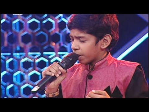 Super Star Junior- 5 | Amal Roy Singing - Kayamboo Kannil Vidarum