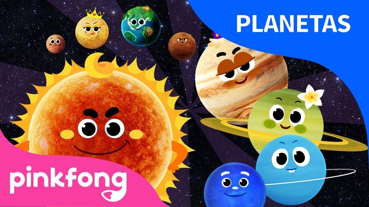 Ocho Planetas Planetas El Sistema Solar Pinkfong Canciones Infantiles Youtube