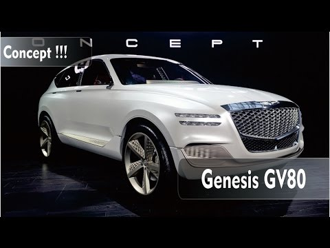 NEWS !!! Genesis GV80 Concept revealed