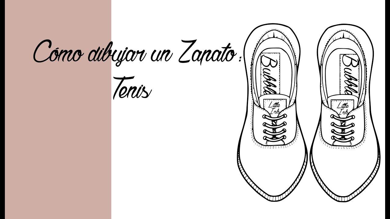 dibujar Cómo zapatillas TenisVista cenitalTutorialEspañol tipo unas QhdxBCtsr