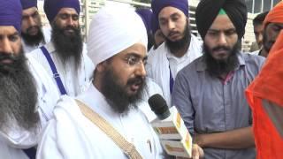 POLICE STOPS DHADRIANWALE To Meet Bapu Surat Singh Ji