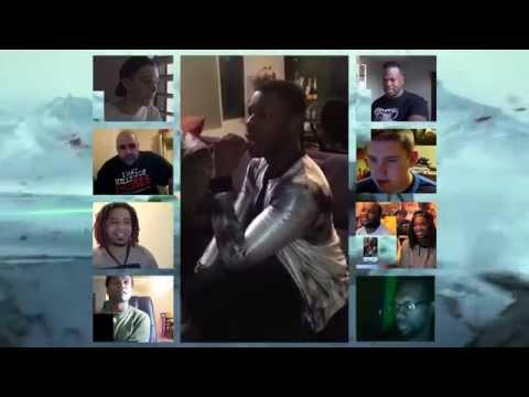 Star Wars 7 - John Boyega Reacts to Final TFA Trailer (Reaction Mashup - Reactception)