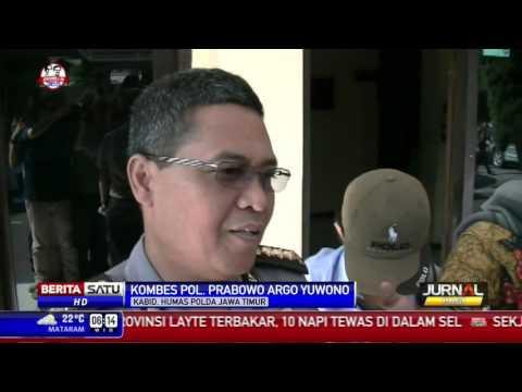 3 Polisi Jalani Sidang Perdana Kasus Salim Kancil