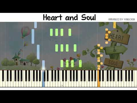 Heart and Soul piano duet - Synthesia cover/tutorial