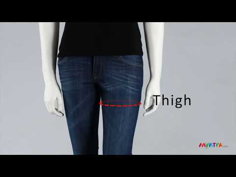 How To Measure Yourself - Women's Bottomwear (Eng)