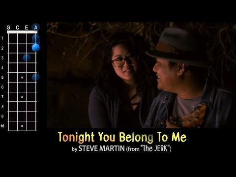 """Tonight You Belong To Me"" (Steve Martin from The Jerk) Ukulele Play-Along!"