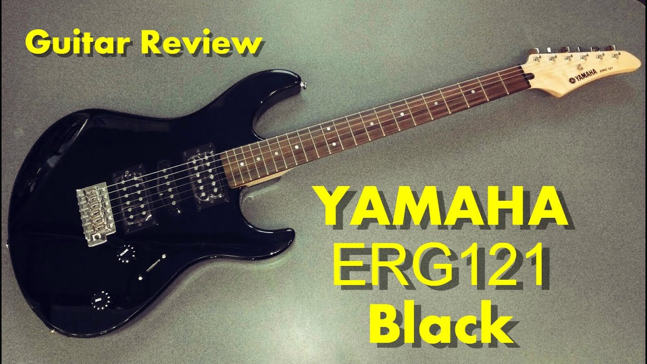 yamaha erg121 black review guitar 245 youtube. Black Bedroom Furniture Sets. Home Design Ideas