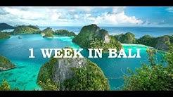 COST OF 1 WEEK IN BALI? ( 2018)