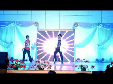 Sunona sunaina || Tholiprema song dance performance || Santosh & Rushi