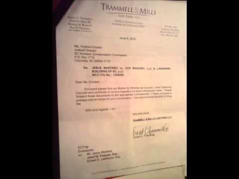 lawyer withdraws- Legal Malpractice # 6 OF 6