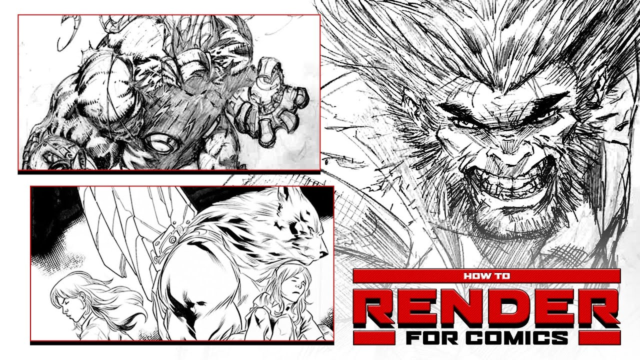 How To Render For Comics