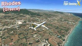 Top 10 Summer Holiday Destinations FSX - #8 Rhodes (Greece)