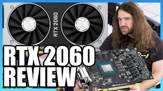 NVIDIA RTX 2060 6GB Review: Overclocking, Ray-Tracing, Thermals