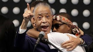 Al Sharpton attacks Trump at funeral for Stephon Clark