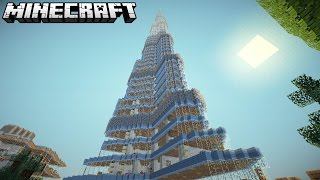 WORLDS TALLEST BUILDING IN MINECRAFT (Burj Khalifa)
