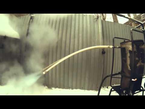Испытание полипропиленовых труб под температурой и давлением марки Heisskraft(Германия)