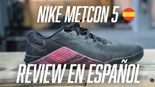 REVIEW Nike Metcon 5 en ESPAÑOL