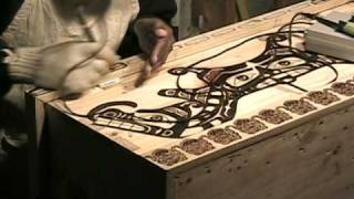 Pyrographed Nw Box