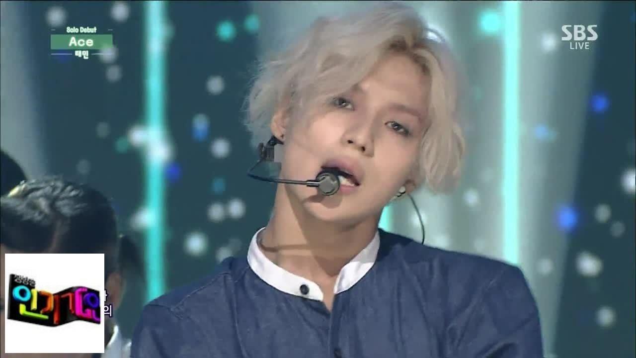 [Taemin] ACE @ popular song Inkigayo 140817
