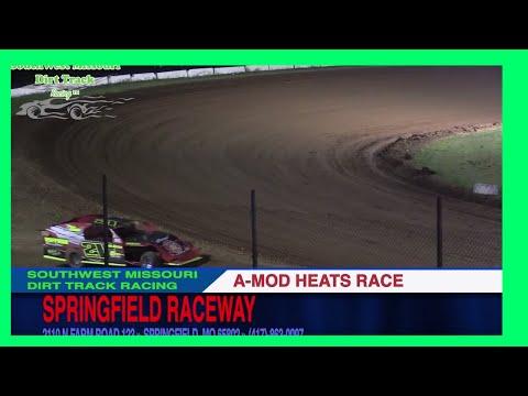 A MOD Heat Races Springfield Raceway September 2, 2017