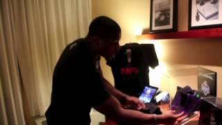 Marcus Gilchrist Recieves His Custom Jordan XIII