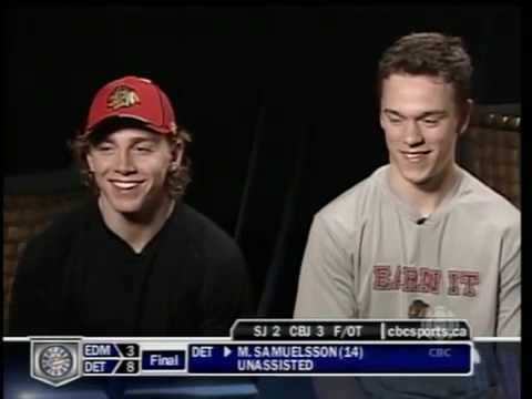 pat kane and jonathan toews-know your teammate