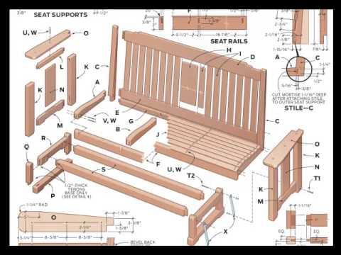 sitzbank flur zu machen verschiedene konstruktionszeichnungen jetzt youtube. Black Bedroom Furniture Sets. Home Design Ideas