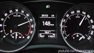 2013 Škoda Superb Combi 2.0 TDI Green tec DSG 170 HP 0-100 km/h & 0-100 mph Acceleration