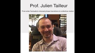NSCS Online Seminar - Prof. Julien Tailleur