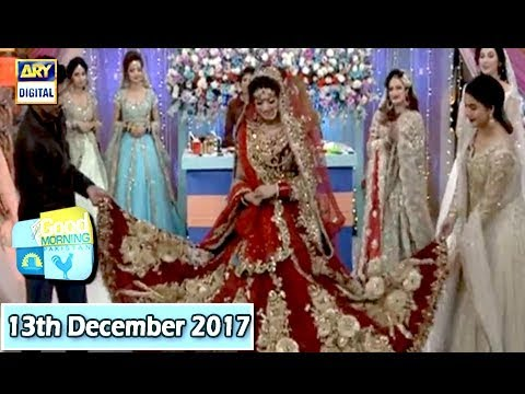 Good Morning Pakistan - Kashee's new bridal collection - 13th December 2017 - ARY Digital Show