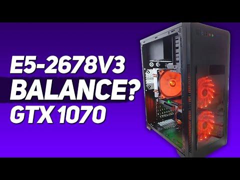 PC Build on Intel Xeon e5-2678 v3 and GTX 1070