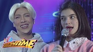 It's Showtime Miss Q&A: Anne Curtis mentions that Vice once had a girlfriend