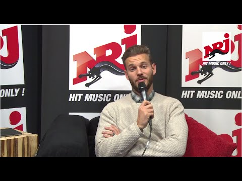 M Pokora - Interview NRJ Belgique
