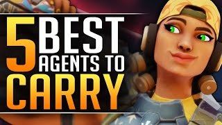 Top 5 BEST AGËNTS in VALORANT that YOU NEED to MAIN - Pro Tips and Tricks - Tier List Guide
