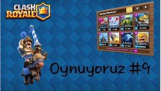 Clash Royal Türkçe-Oynuyoruz #9 | Kanser Deste