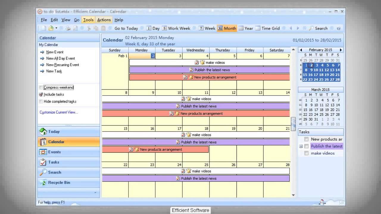 Best calendar software for windows efficient calendar for Mobel planer software