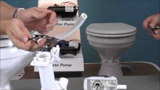 Jabsco Manual Toilet Not Bringing Water In 29090 or 29120 Top Valve Gasket