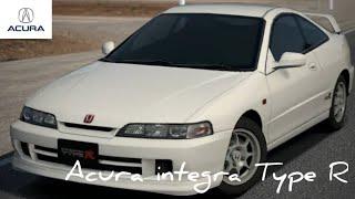 Acura integra type r test drive