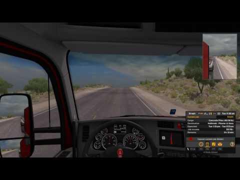 Tucson to Holbrook: Concrete Pillars - American Truck Simulator Haul #2